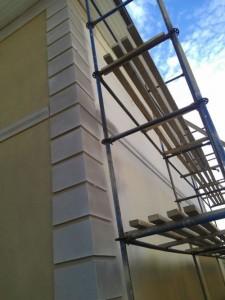 Наружное утепление стен панельного дома пенополистиролом